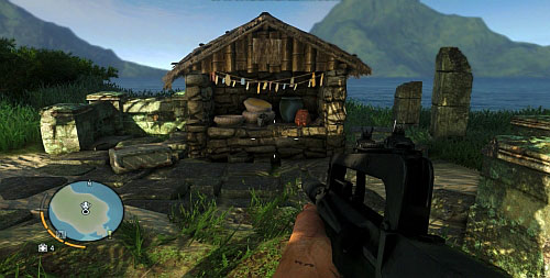 On the top, you will find an altar with the statuette on it - The Northern Island - Northern part - Cult Objects - Far Cry 3 - Game Guide and Walkthrough