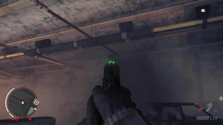 Your task is to burn the gas oozing out from the pipes at the ceiling - Holloway - Red zone | Key Points - Key Points - Homefront: The Revolution Game Guide & Walkthrough