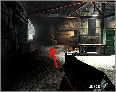 After freeing the prisoners at the end of the mission, you will reach the bigger part of the cave occupied by the enemy - Payback | Intel - Intel location - Call of Duty: Black Ops Game Guide & Walkthrough