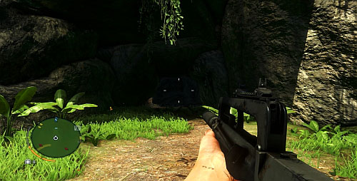 Find the place marked with the red cross in the screenshot above - The Northern Island - North-eastern part - Cult Objects - Far Cry 3 - Game Guide and Walkthrough