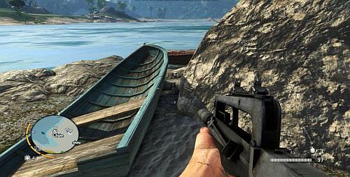 Статуэтку можно найти в отмеченной области между лодкой и скалами - Северный остров - Северо-западная часть - Объекты культа - Far Cry 3 - Руководство по игре и прохождение игры