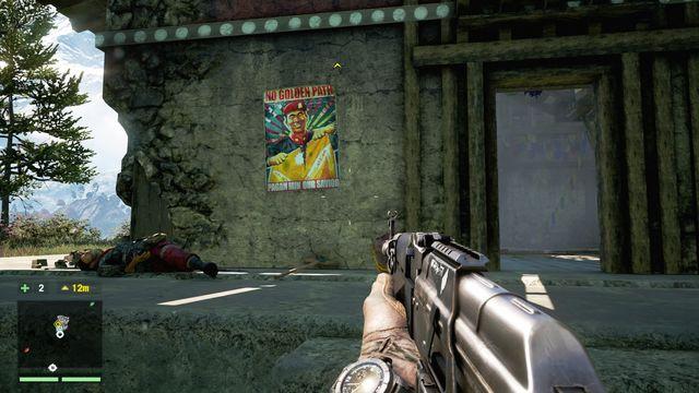 Один из постеров.  - Коллекционирование - Основы - Far Cry 4 - Руководство по игре и прохождение игры