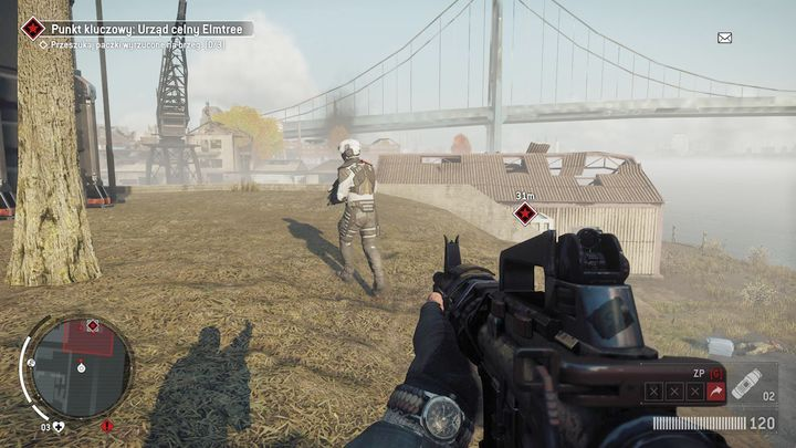 Once you reach the place, eliminate all the enemies as quickly as possible - Elmtree - Red zone | Key Points - Key Points - Homefront: The Revolution Game Guide & Walkthrough