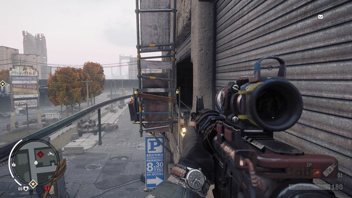 Still walking through the bridge, you will reach the place shown on the screenshot - Holloway - Red zone | Key Points - Key Points - Homefront: The Revolution Game Guide & Walkthrough