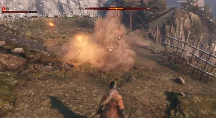 Remember, however, that Mikiri Counter does not protect against the attack type of cut/slash - when you see that the enemy takes the attack to the side, make the dodging / leap back. - Seven Ashina Spears   Sekiro Shadows Die Twice Boss Fight - Bosses - Sekiro Guide and Walkthrough