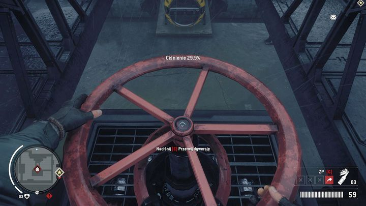 When you clear the area of enemy troops, move to the upper level of the outpost, where you will find the valve - Holloway - Red zone | Key Points - Key Points - Homefront: The Revolution Game Guide & Walkthrough
