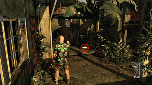 SECRET 15 [Golden Gun - Sawn-Off Shotgun 3/3]: You find it on the ground during the last series of encounters, on the left from the stairs leading to the upper balconies - Clues and Golden Guns - Chapter VII - Collectibles - Max Payne 3 - Game Guide and Walkthrough