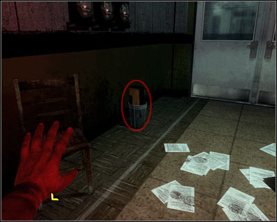 The secret is in the garbage can on the left - Revelations | Intel - Intel location - Call of Duty: Black Ops Game Guide & Walkthrough
