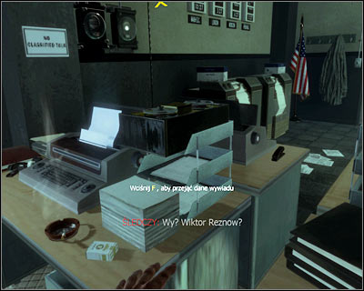 Secret is on one of the desks on the left - Revelations | Intel - Intel location - Call of Duty: Black Ops Game Guide & Walkthrough