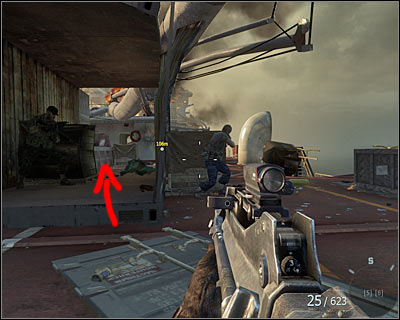 After getting on board go straight ahead - Redemption | Intel - Intel location - Call of Duty: Black Ops Game Guide & Walkthrough