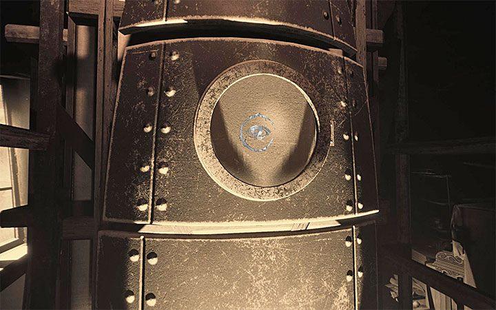 Теперь вы можете подойти к ракетному видоискателю и взаимодействовать с ним, благодаря чему вы пройдете головоломку и начнете путешествие в космос - Риддлер с ракетой   Решение загадки в Layers of Fear 2 - Layers of Fear 2 - Руководство по игре