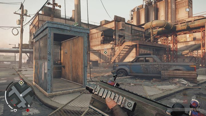 Once you reach the place, you will see the view seen on the screenshot - Elmtree - Red zone | Key Points - Key Points - Homefront: The Revolution Game Guide & Walkthrough