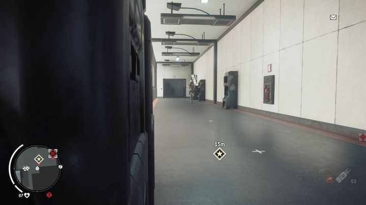 Inside, youll find a single soldier patrolling the corridor - Ashgate - Yellow zone | Key Points - Key Points - Homefront: The Revolution Game Guide & Walkthrough