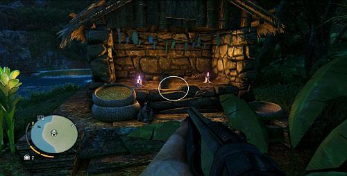 Заплывите к острову с северо-западной стороны, где вы сможете сойти на берег - Северный остров - Северо-восточная часть - Объекты культа - Far Cry 3 - Руководство по игре и прохождение игры