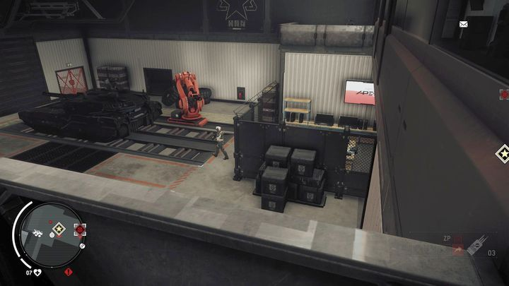 In the middle of the corridor, youll find a passage to the room shown on the screenshot - Ashgate - Yellow zone | Key Points - Key Points - Homefront: The Revolution Game Guide & Walkthrough