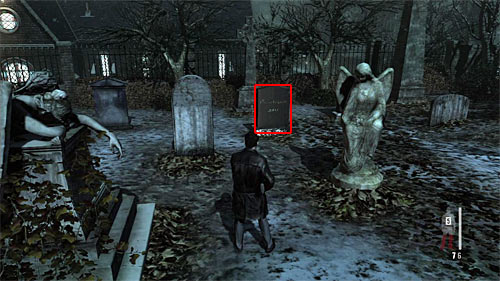 SECRET 7 [Clue 3/3 - Vinnies Tombstone]: On the small graveyard, which you examine just after killing the sniper on the tower - Clues and Golden Guns - Chapter VIII - Collectibles - Max Payne 3 - Game Guide and Walkthrough