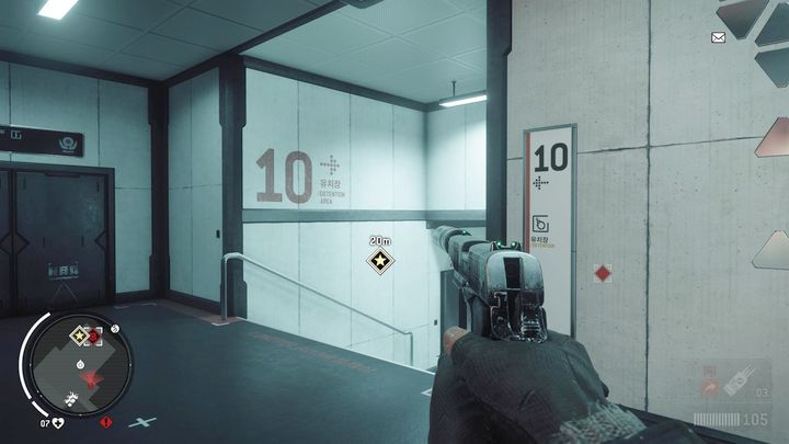 Once you get inside, turn left and go through the stairs to the lower level - Ashgate - Yellow zone | Key Points - Key Points - Homefront: The Revolution Game Guide & Walkthrough