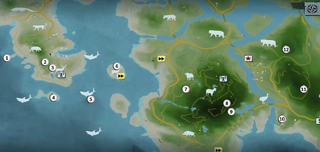 1 - Северный остров - Юго-западная часть - Культовые объекты - Far Cry 3 - Руководство по игре и прохождение игры