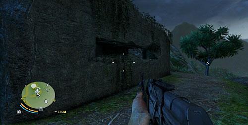 В отмеченной области вы найдете бункер, показанный выше - Северный остров - Юго-западная часть - Объекты культа - Far Cry 3 - Руководство по игре и прохождение игры