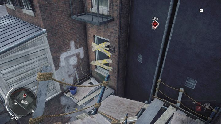 Once you get on the upper floor, you will find yourself in a place shown on the screenshot - Ashgate - Yellow zone | Key Points - Key Points - Homefront: The Revolution Game Guide & Walkthrough