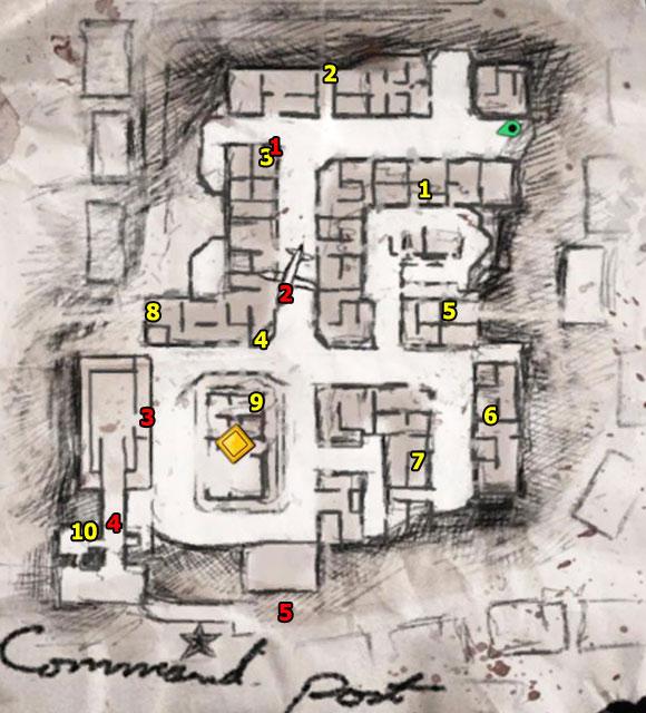 1 - Mission 7   Wine Bottles and Gold Bars - Wine Bottles and Gold Bars - Sniper Elite V2 Game Guide & Walkthrough