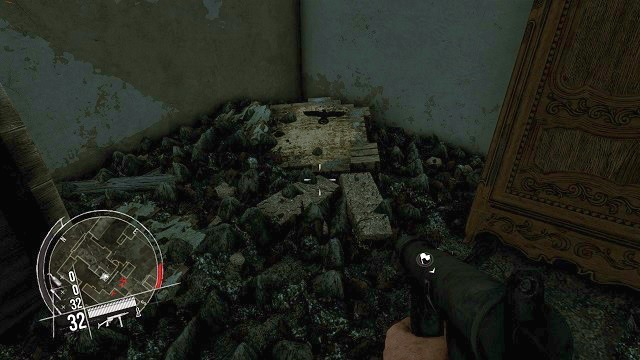 The location of the 1 collectible. - Mission 4 - Collectibles - Enemy Front - Game Guide and Walkthrough