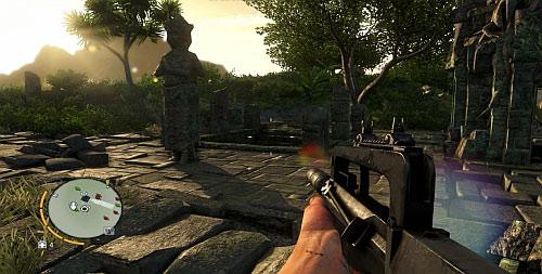 Заплыв на остров с храмом на нем - Северный остров - Северо-западная часть - Объекты культа - Far Cry 3 - Руководство по игре и прохождение игры