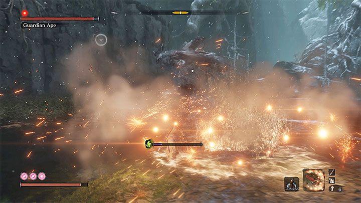 1 - Обезьяна-хранитель в Затонувшей долине   Sekiro Shadows Die Twice Boss Fight - Боссы - Руководство по Sekiro и прохождение игры