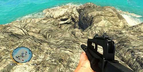 Подойдите к левой стороне статуи, которую вы можете увидеть сверху, и возьмите спуск, показанный на скриншоте - Северный остров - Юго-западная часть - Объекты культа - Far Cry 3 - Руководство по игре и прохождение игры