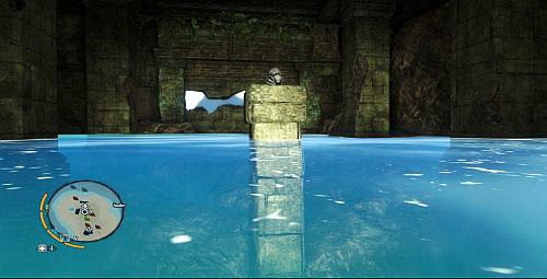 Войдите внутрь и поплывите к левой стороне комнаты, где есть еще одна статуэтка - Северный остров - Юго-западная часть - Объекты культа - Far Cry 3 - Руководство по игре и прохождение игры