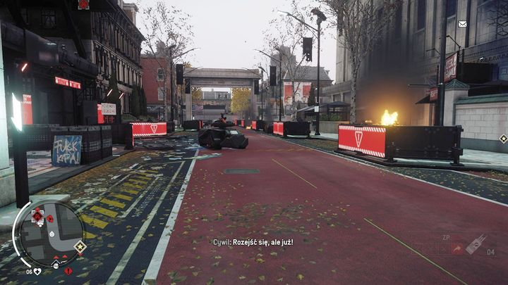 A goliath will patrol the area, so prepare a rocket launcher and eliminate it as quick as you can - Ashgate - Yellow zone | Key Points - Key Points - Homefront: The Revolution Game Guide & Walkthrough