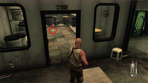 SECRET 3 [Golden Gun - M4 Super 90 Shotgun 1/3]: In small room in the first storehouse - Clues and Golden Guns - Chapter X - Collectibles - Max Payne 3 - Game Guide and Walkthrough