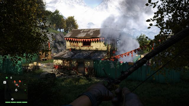 The building from which you will be able to see the whole area. - Barnalis Textiles - Outposts - Two alarms - Far Cry 4 - Game Guide and Walkthrough