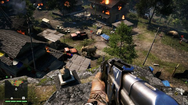 You will receive this mission from Amita and it will begin automatically after rescuing the hostages (liberating this outpost is one of the missions of the main campaign - Incursion) - Khilana Bazaar - Outposts - One alarm - Far Cry 4 - Game Guide and Walkthrough