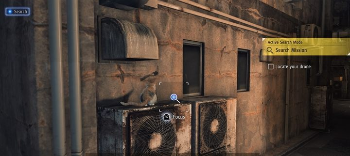 The first cat is in the prologue of the game - Cats meowing - list of in Judgment - Side activities - Judgment Guide
