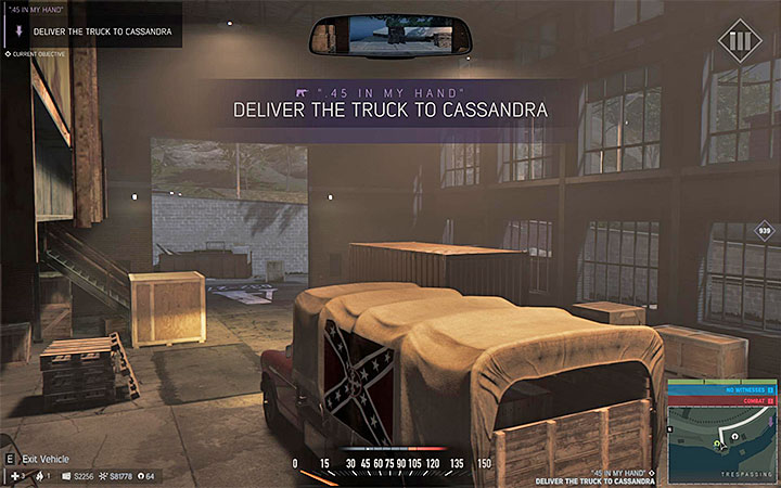 Take care of the nearby gangsters and then steal the truck with the weapon cargo - Favors for underbosses - Optional missions - Mafia III Game Guide