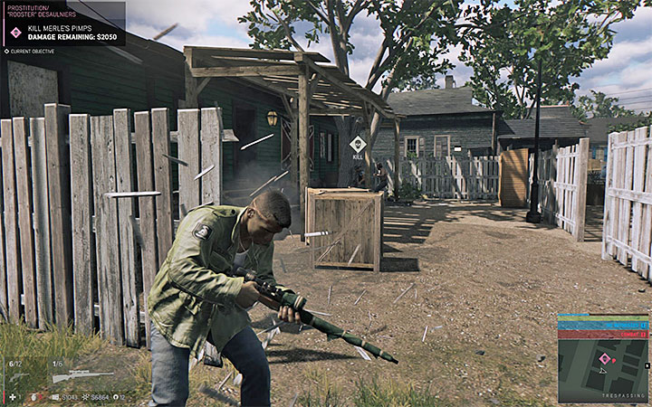 Fences and wooden chests can be easily destroyed, leaving Lincoln vulnerable to enemy attacks - General tips - Basic information - Mafia III Game Guide