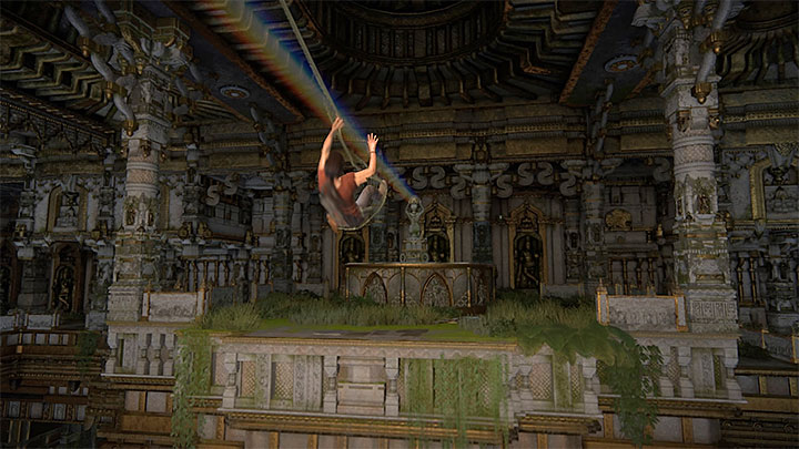 The section begins once youve activated all the waterfalls next to a large statue of Shiva - How to solve the Prism Puzzle (Chapter 7)?   FAQ - FAQ - Frequently Asked Questions - Uncharted: The Lost Legacy Game Guide