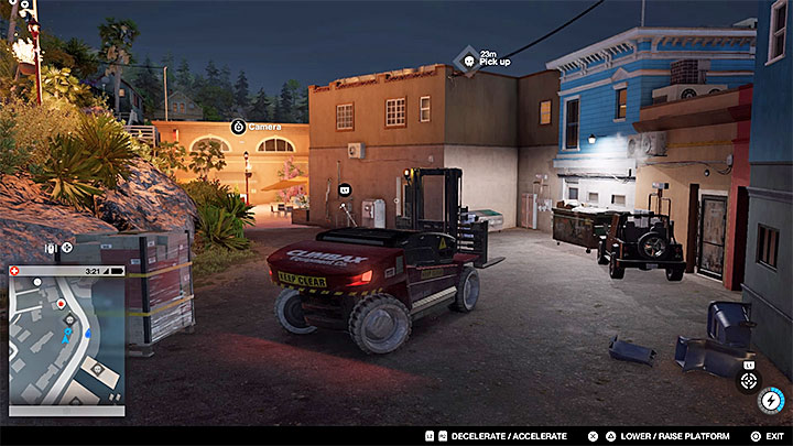 Lifts, forklifts and cranes are extremely useful if you want to reach a roof - General hints - The Basics - Watch Dogs 2 Game Guide