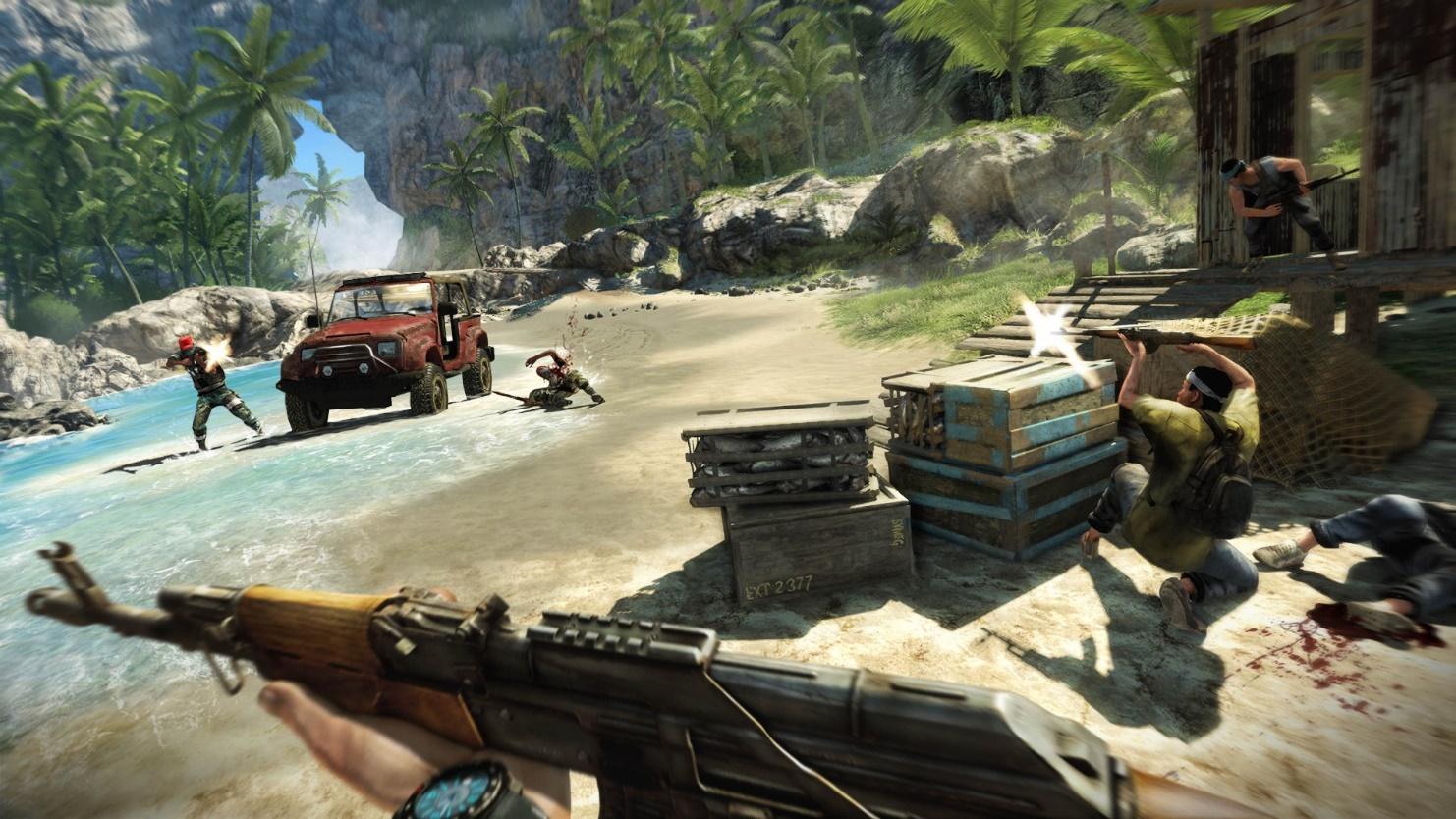 far cry 3 играть на своей карте
