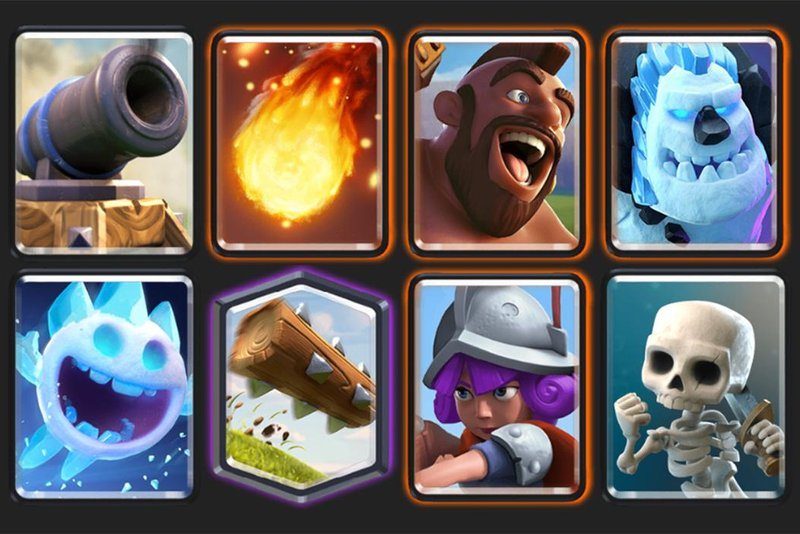 The classic Hog Cycle deck.