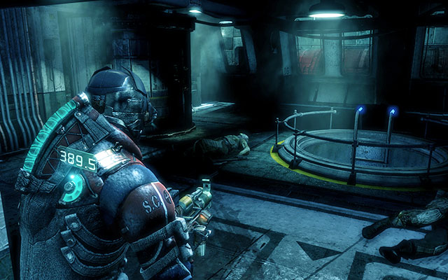 After boarding the ship, youll get information about absence of oxygen - Restore oxygen to the ship | Co-op missions: C.M.S. Brusilov - Co-op missions: C.M.S. Brusilov - Dead Space 3 Game Guide