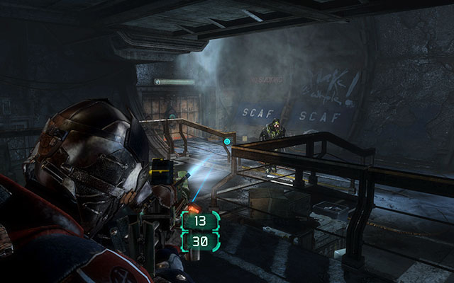 The entrance to the facility can be found near the cargo elevator - Recover anything that survived the purge   Side missions: Disposal Services - Side missions: Disposal Services - Dead Space 3 Game Guide