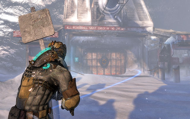 The key to this mission is in the pump station - Find the stashed supplies | Side missions: Supply Depot - Side missions: Supply Depot - Dead Space 3 Game Guide