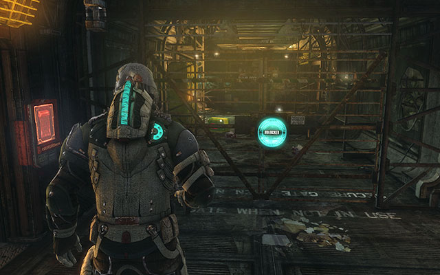 The elevator leading to barracks can be found in the corridor starting in the room with huge tube and an angle puzzle in the paleontology sector - Scavenge the 163rd Reaper Barracks | Side missions: Reaper Barracks - Side missions: Reaper Barracks - Dead Space 3 Game Guide