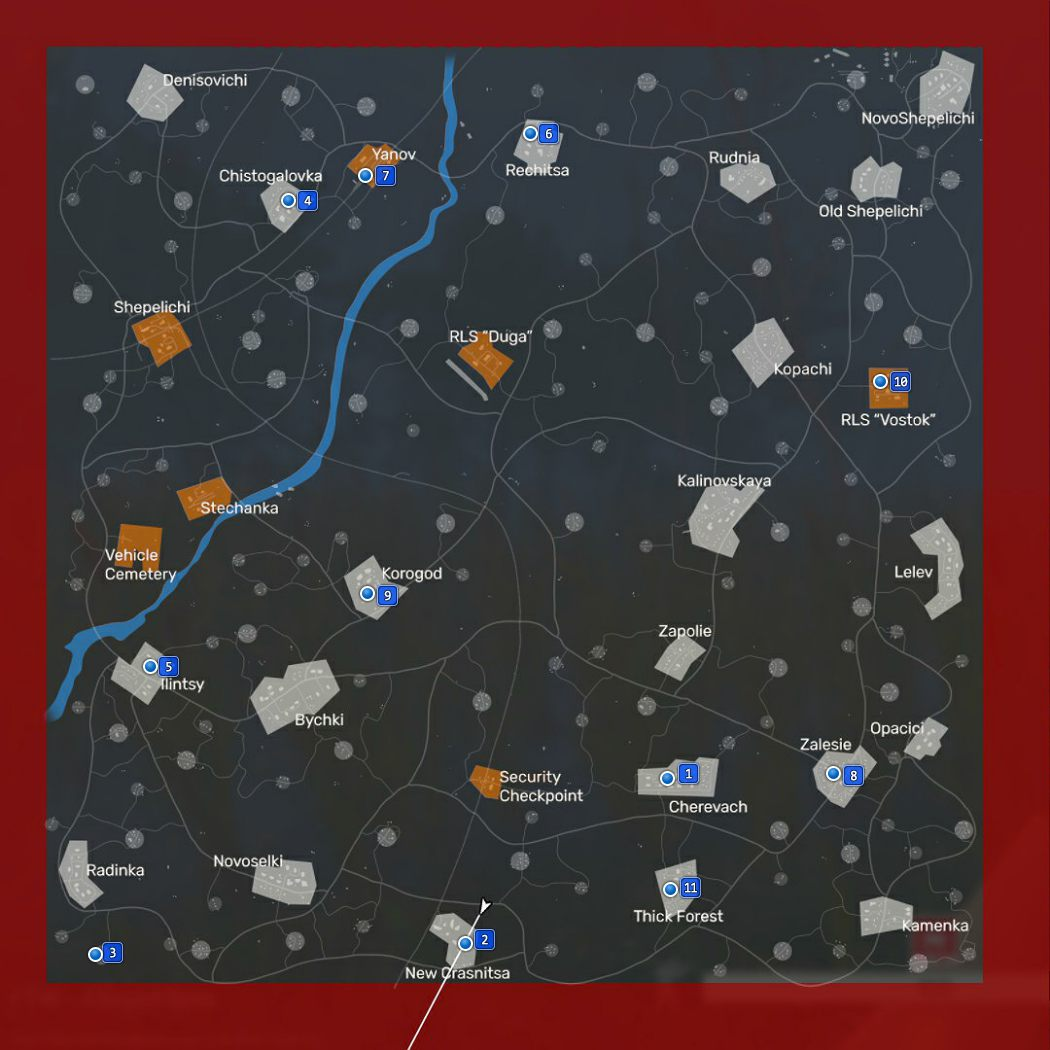 Fear the Wolves Map