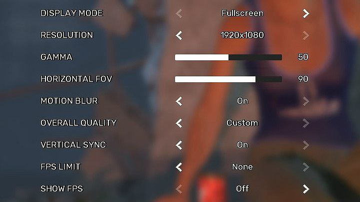 By entering the Settings tab in Fear the Wolves, you can get to graphics settings - System requirements of Fear the Wolves - Annex - Fear the Wolves Game Guide