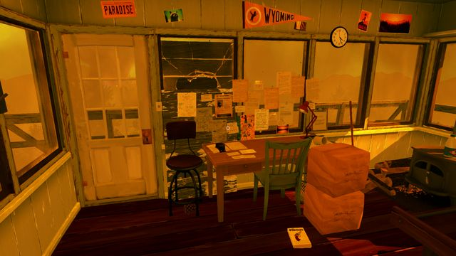 Henry hangs the notes that he finds over his desk. - Notes - Collectibles - Firewatch - Game Guide and Walkthrough
