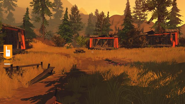 Pay attention to the diminishing bar under the walkie-talkie icon. - Relationship with Delilah - The basics - Firewatch - Game Guide and Walkthrough