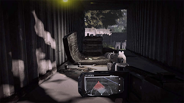 Выманите бандитов из того места, где они изначально стоят, и тогда вы сможете их тихо убить или быстро пройти мимо - Clean Job |  Руководство по трофеям - Руководство по трофеям - Get Even Game Guide